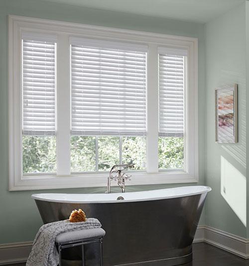 Faux Wood Blinds Custom Window Shades Blindsgalore