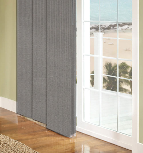 Sliding Panel Track Window Blinds